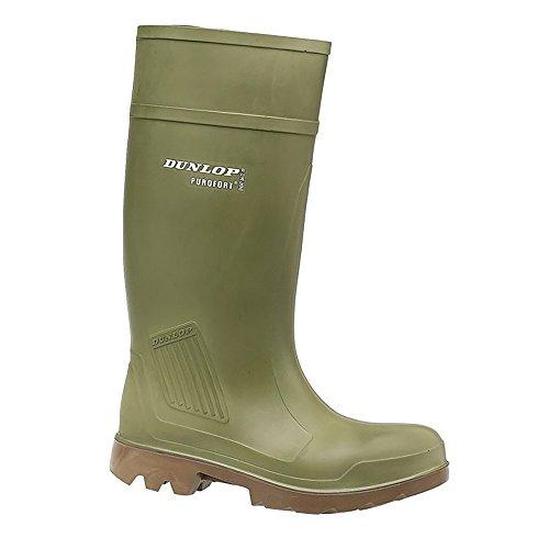 Dunlop - Botas de goma para hombre verde - verde