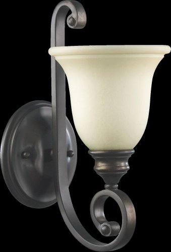 - Bryant 1 Light Wall Bracket Finish: Oiled Bronze