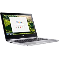 Acer Chromebook NX.GL4AA.001;CB5-312T-K8Z9 13.3-Inch Multi-touch Screen Laptop (MediaTek MT8173 2.1GHz, 4GB LPDDR3, 32GB, Chrome OS) (Certified Refurbished)