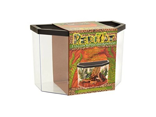 5 gallon fish tank with lid - 6