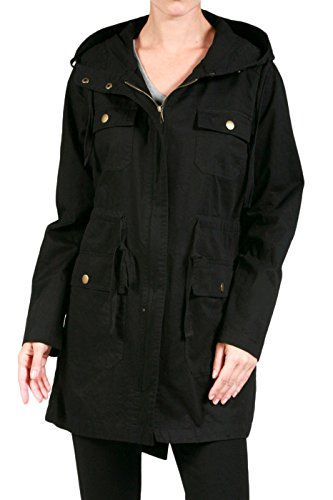 2LUV-Plus-Womens-Plus-Size-Essential-Hooded-Utility-Jacket