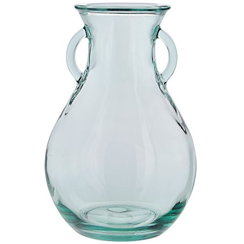 Couronne Company G5531 Couronne Large French Country Glass Vase, 9.5'' Tall