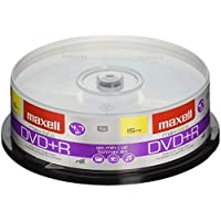 Maxell 639008 4.7Gb Dvd+R Spindle