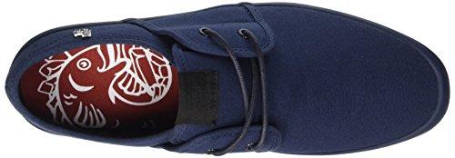 Base London Spam 2 - Zapatillas de deporte Hombre Azul - Bleu (Navy On Navy)