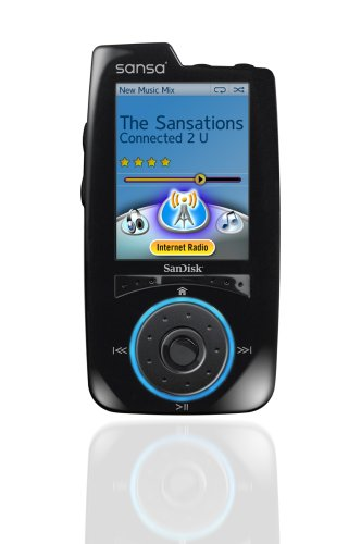 SanDisk Sansa Connect 4 GB MP3 Player (Black)