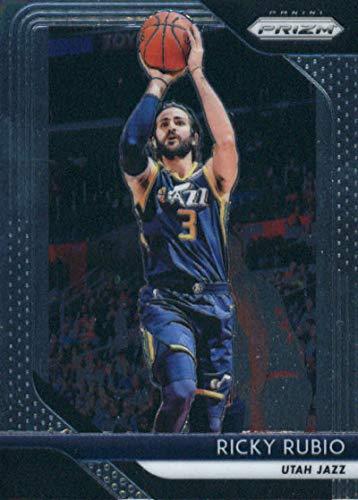 - 2018-19 Panini Prizm #133 Ricky Rubio Utah Jazz NBA Basketball Trading Card