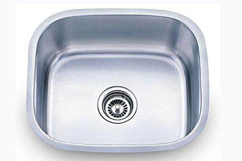 Sink Smart 860 | 20 Inch Single Bowl | Undermount | Stainless Steel Kitchen Sink
