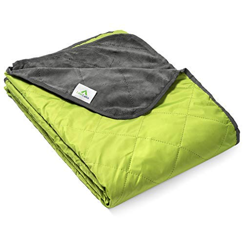 Last Lake Camping Blanket - Waterproof, Cozy, Outdoor Blanket Functions As Camp Blanket, Picnic Blanket, Stadium Blanket [並行輸入品] B07R4VVTF6