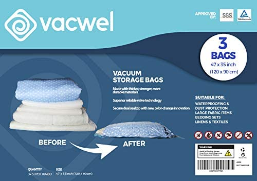 Vacuum Storage Clothes Comforters Mattress product image