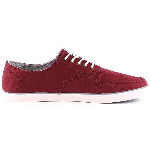 Element TOPAZ - zapatilla deportiva de lona hombre rojo - rojo