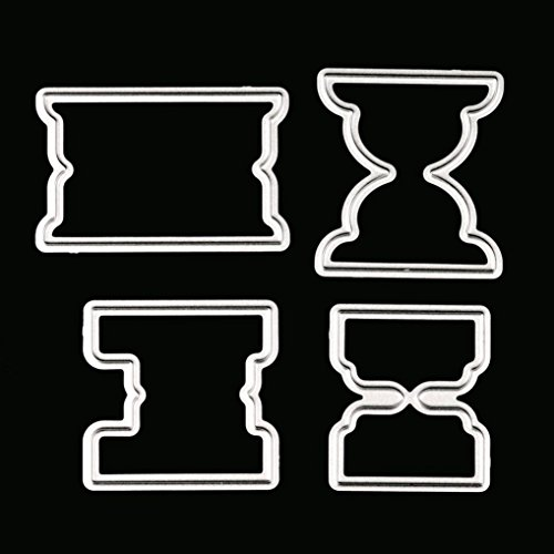 Metal Die Cutting Dies Stencil for DIY Scrapbooking Album Paper Card Decor Craft by Topunder - Mold Candy Wreath