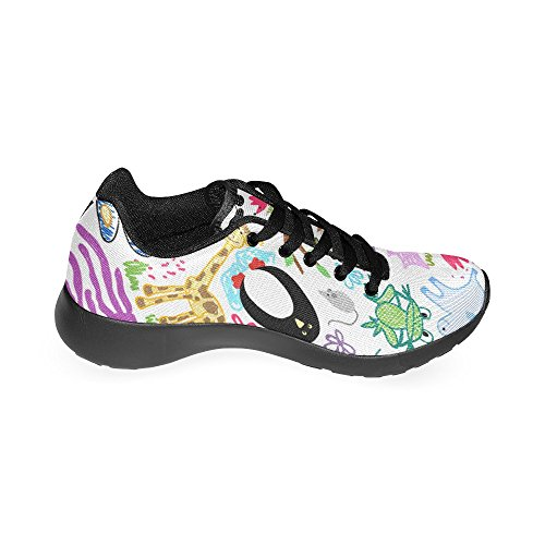 InterestPrint Womens Cross Trainer Athletic Shoes Breathable Lightweight Running Sneakers PodKLx0H
