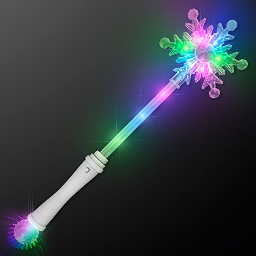 Frozen Snowflake LED Winter Party Wand (Frozen Wand)