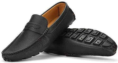 Mio Marino Mens Loafers - Italian Dress Casual Loafers for Men - Slip-on Driving Shoes - in Gift...