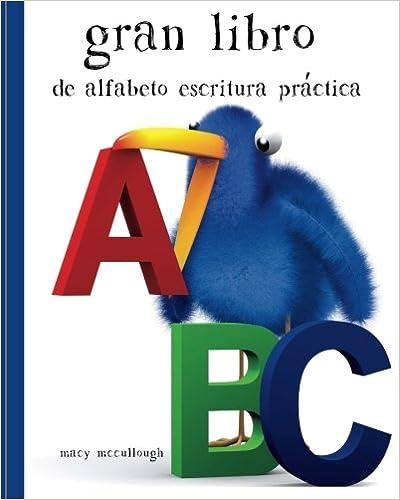 Amazon.com: Gran Libro de alfabeto Escritura Práctica ...