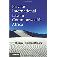 Image for Private International Law in Commonwealth Africa