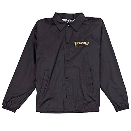 Thrasher Pentagram Coach Jacket Medium Black