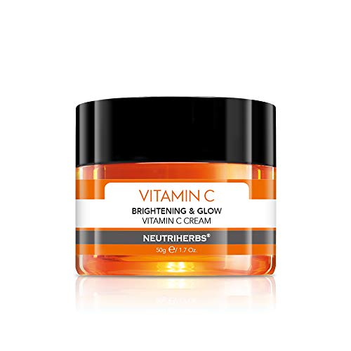 Neutriherbs Vitamin C Facial Cream Night Cream Organic Face Cream - Anti Aging and Wrinkle - Brightening Softening Smoothing Skin 1.7oz