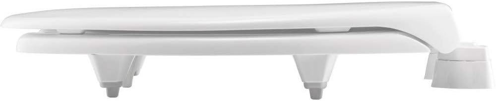Bemis Medic-Aid 2L2150T 000 - Asiento de inodoro de plástico elevado, color blanco, 2L2150T 000: Amazon.es: Bricolaje y herramientas