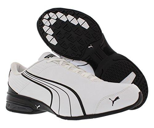 Puma , Herren Laufschuhe mehrfarbig PUMA BLACK-DARK SHADOW-PU Puma White-dark Shadow-puma Black