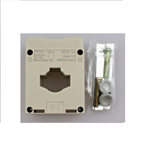 Morning Group Current Transformer for Alternating Current Meter CT 500A/5A ... (CT-100/5A)