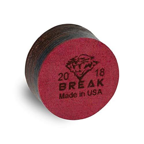 Tiger Laminated Pool Billiard Break CUE TIP - Super Hard - 13 or 15 mm (13 mm) ()