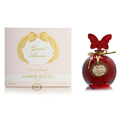 Flacon Perfume Bottle - Annick Goutal Grand Amour for Women 3.4 oz Eau de Parfum Butterfly Flacon Bottle