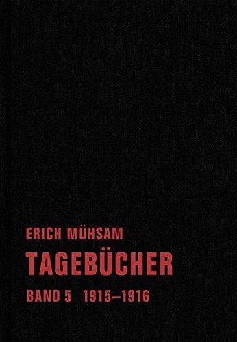 Tagebücher: Band 5. 1915-1916 (Tagebücher Bd. 1-15)