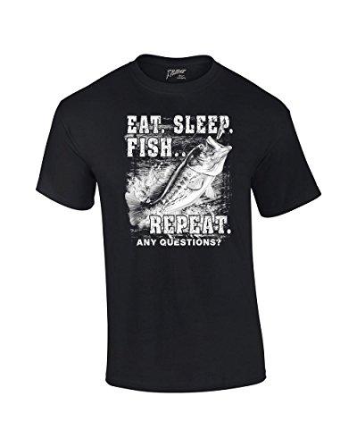 Fishing T Shirt Sleep Fish Repeat product image