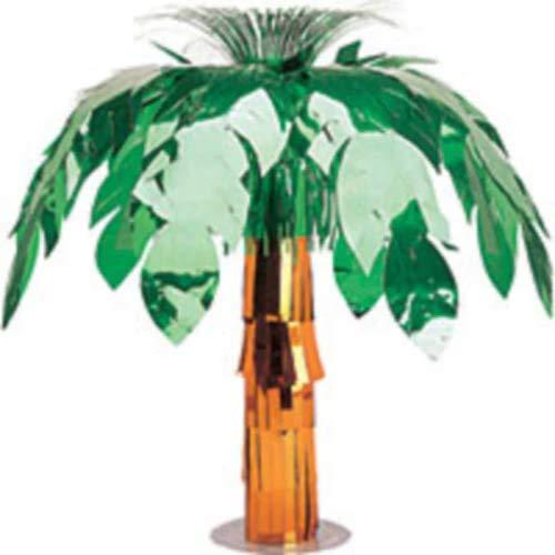 HollyDel Metallic Palm Tree Centerpiece Summer Decoration