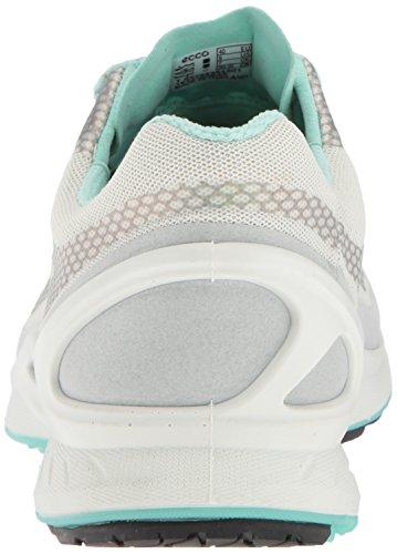 Ecco Donna Biom Fjuel Cravatta Sneaker Walking Shoe Concrete / White