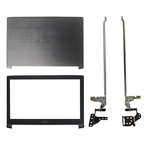 Laptop Replacement Parts Fit Acer Aspire A515-51 A515-51G (Top Cover Case+Front Bezel Cover+LCD Screen Hinges Hinges)