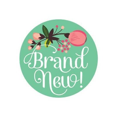 Lucy Darling Shop Newborn Baby Sticker - Baby Girl - Floral Hand Lettering: Baby [5Bkhe0304863]