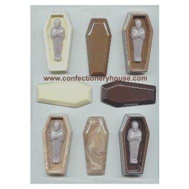 Coffin With Mummy Candy