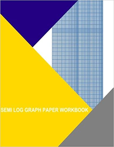 Buy Semi Log Graph Paper Workbook  Decade By  Divisions Book