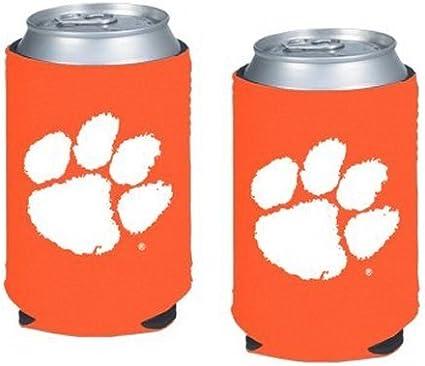 2 | Michigan Wolverines Collapsible Beverage Insulators Set of 2 Neoprene Pocket Coolies NCAA Michigan
