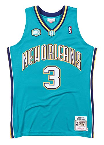 Mitchell & Ness Chris Paul Orleans Hornets Authentic 2005-06 Road NBA -