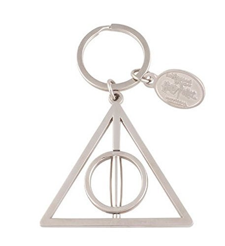 Wizarding World of Harry Potter The Deathly Hallows Spinning Keychain (Wizarding World Of Harry Potter Hollywood Opening)