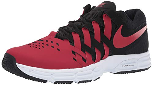 Nike Men's Lunar Fingertrap Trainer Cross, Black/Gym Red 2, 9.5 Regular US (Nike Shoes Lunar Men)