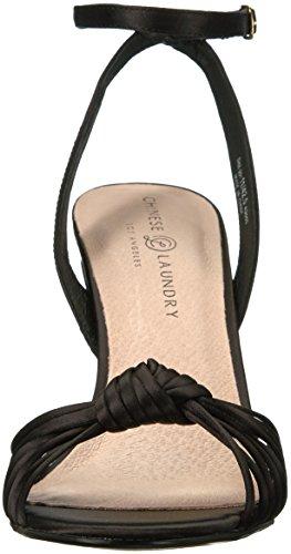 Sandal Selina Women's Satin Black Dress Laundry Chinese wZqx6IR