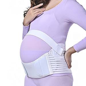 inkint cinturón de lactancia & Mujeres altavoces transpirable (para Réduisez la tensión de la cintura/pelvis/sacro-ililis/columna vertebral etc) XXL