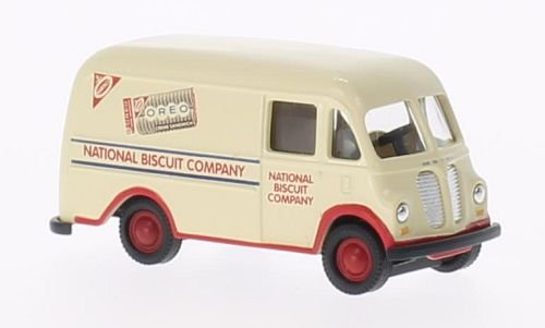 - InterNational Harvester Metro Van , Nabisco - National Biscuit Company, Model Car, Ready-made, Classic Metal Works 1:87