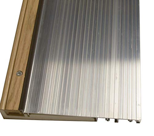 Exterior Inswing Threshold - Hardwood Cap- 7 13/16