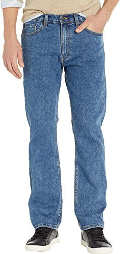 (Signature by Levi Strauss & Co. Gold Label Men's Regular Fit Jeans Medium Indigo 42 30)