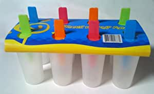 Cylinder Popsicle Mold - Makes 8 Popsicles