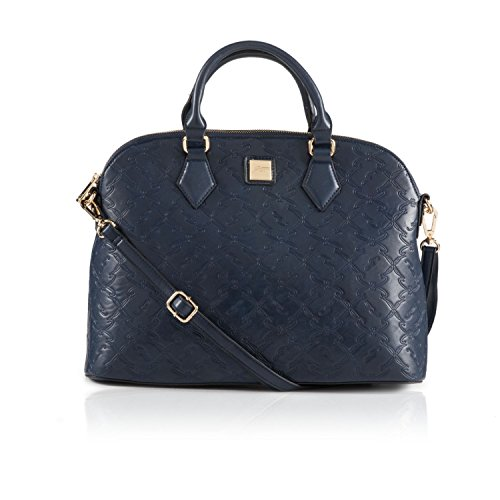 Gattinoni Lana L Double Handle Bag Blue