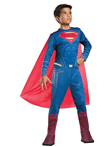 Rubie's Costume Batman vs Superman: Dawn of Justice Superman Value Costume, -