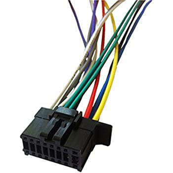 41vI2Umt9fL._SL500_AC_SS350_ amazon com pioneer wire harness for 2010 and up deh p8400bh deh pioneer deh 150mp wiring harness at alyssarenee.co