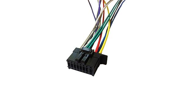 Amazon.com: PIONEER DEH-14UB / DEH-44HD Player Wiring Harness Plug:  Everything ElseAmazon.com