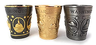 Washington DC Shot Glasses (set of 3)